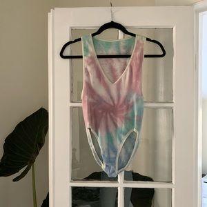 Urban Outfitters Tie Dye Bodysuit